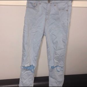 Glassons skinny ripped jeans